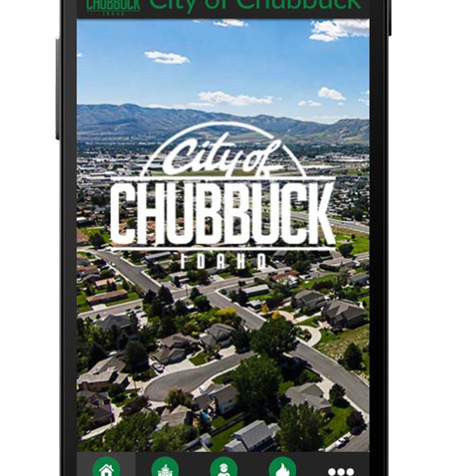 Introducing the City of Chubbuck APP!